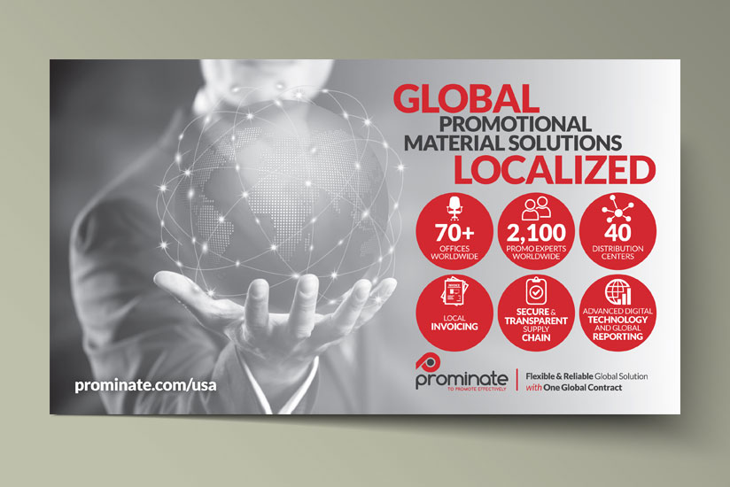 Global map flyer